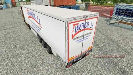 La piel Transfricar S. L. cortina semi-remolque para Euro Truck Simulator 2