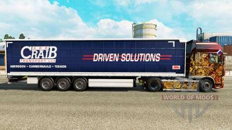 La piel ARR Craib de Transporte en semi-remolque para Euro Truck Simulator 2