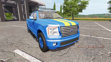 Lizard Pickup TT ford para Farming Simulator 2017
