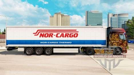 La piel Ni de Carga del Termo en una cortina sem para Euro Truck Simulator 2