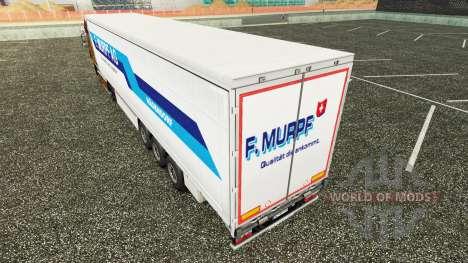 La piel F. Murpf AG en una cortina semi-remolque para Euro Truck Simulator 2