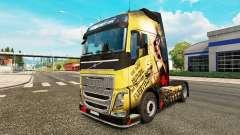La piel Esparta para camiones Volvo