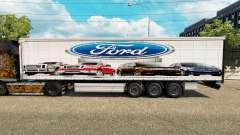 La piel Ford v2.0 cortina semi-remolque