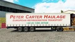 La piel de Peter Carter de Transporte de mercanc