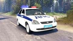 LADA Priora de la Policía de DPS (VAZ-2170) v2.0
