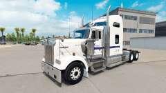 La piel de Cemex en el camión Kenworth W900