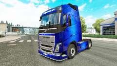 Fantástico Azul de la piel para camiones Volvo