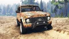 VAZ-21214 (Lada 4x4 Urban) tiger para Spin Tires