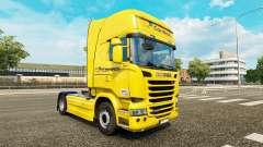 Correios de la piel para Scania Streamline camió