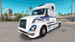La piel en los Escenarios Trucking LLC camión tr