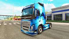 Allfons de la piel para camiones Volvo