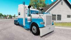 La piel del Bebé Azul y Blanco para el camión Pe