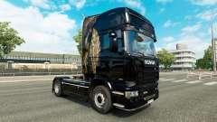 La piel de camiones Scania