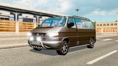Volkswagen Caravelle para el tráfico