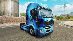 La piel Allfons en el camión Iveco