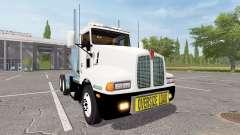 Kenworth T600 oversize load