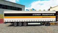 Steiner Transporte de la piel en el trailer de l