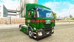Sada Transportes de la piel para Iveco tractora