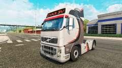 Givar BV de la piel para camiones Volvo