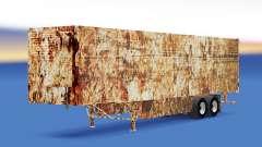 La piel Oxidado en refrigerada semi-remolque