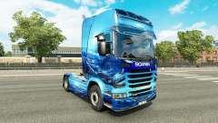 La luz Azul de la piel para el camión Scania