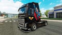 Superman piel para camiones Volvo
