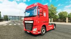 El FC Bayern de Múnich de la piel para DAF camió