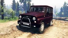 UAZ-315195 hunter turbo v2.0