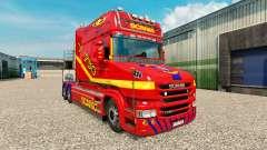 La piel de camiones Scania T