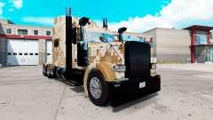 Camo de la piel para el camión Peterbilt 389