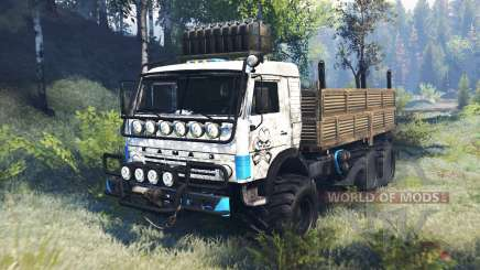 KamAZ-43114 v6.0 para Spin Tires