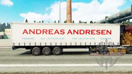 La piel Andreas Andresen en cortina semi-remolque para Euro Truck Simulator 2