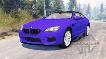 BMW M6 (F13) para Spin Tires