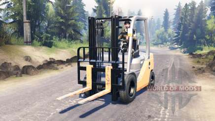 Toyota Forklift para Spin Tires