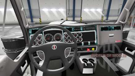 Interior Madera para Kenworth W900 para American Truck Simulator