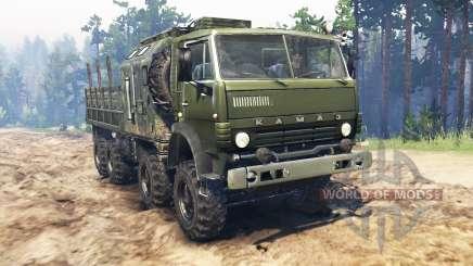 KamAZ-6350 Mustang para Spin Tires