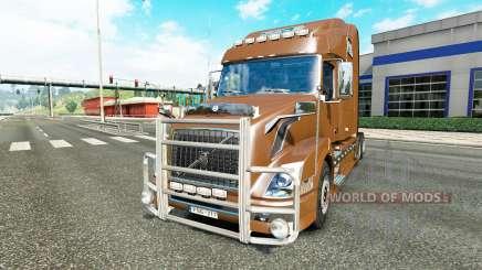 Volvo VNL 780 v2.0 para Euro Truck Simulator 2