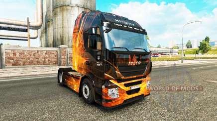 Cúbica de la Llamarada de la piel para Iveco tractora para Euro Truck Simulator 2