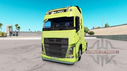 Volvo FH16 2013 v2.2 para American Truck Simulator