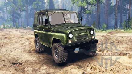 UAZ-469 para Spin Tires