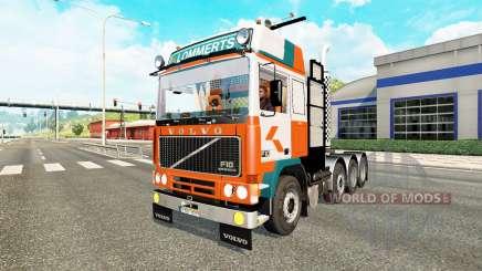 Volvo F10 8x4 heavy para Euro Truck Simulator 2
