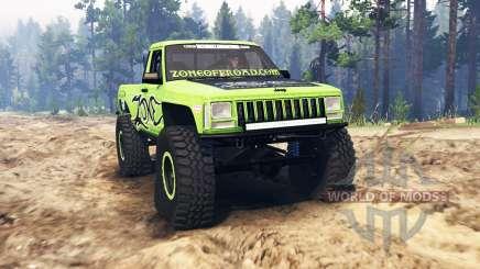 Jeep Comanche (MJ) para Spin Tires