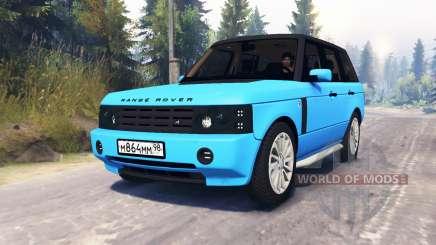 Range Rover Sport Pintoresca para Spin Tires
