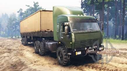 KamAZ-44108 Batyr para Spin Tires