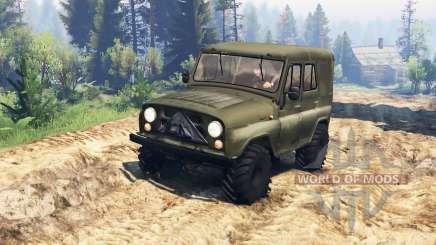 UAZ-31512 v2.0 para Spin Tires