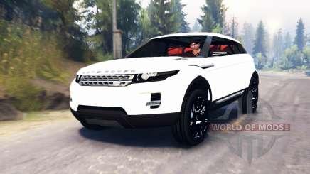 Range Rover Evoque LRX para Spin Tires