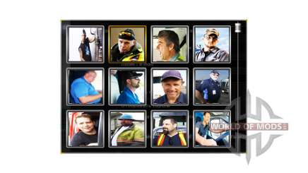 Los avatares de los controladores de v1.1 para American Truck Simulator
