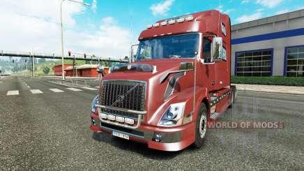 Volvo VNL 780 reworked para Euro Truck Simulator 2