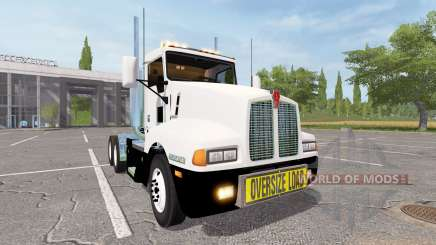Kenworth T600 oversize load para Farming Simulator 2017