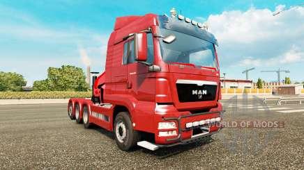 MAN TGS v2.0 para Euro Truck Simulator 2